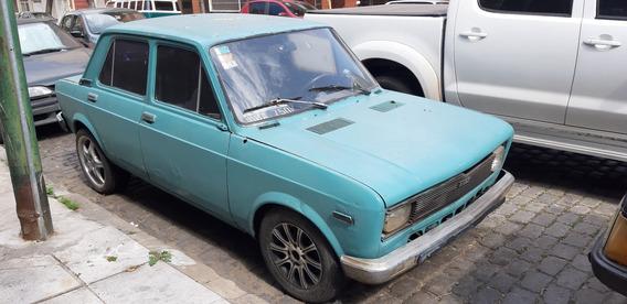 Fiat 128 Europa 1979 Motor Llevado A 1.6 $49.900