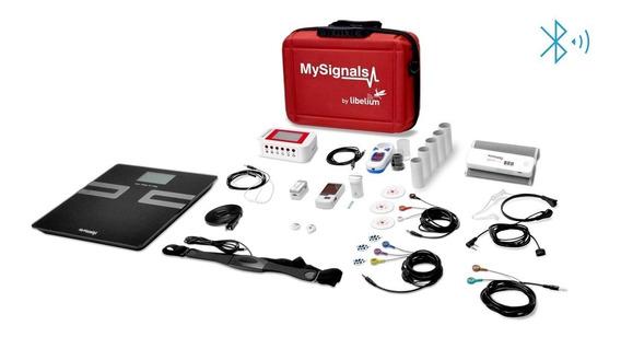 Kit Medico Mysignals 33 Exames Eletrocardiograma Ecg Emg