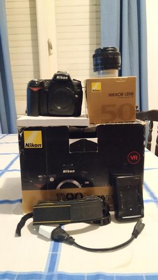 Nikon D90 + Nikkor 50mm 1.8d Af