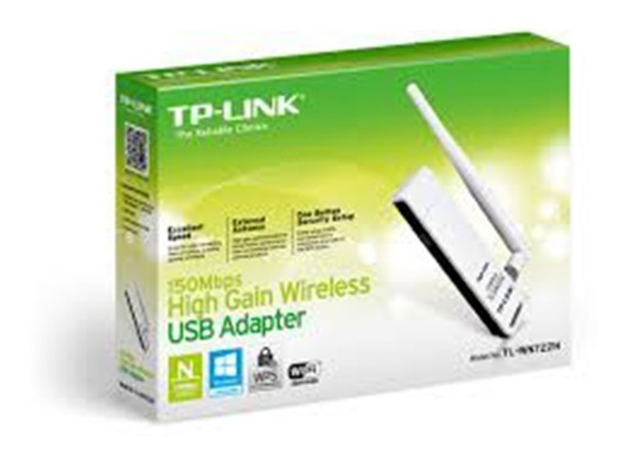 Placa De Red Usb Wifi Tp-link Adaptador Tl-wn722n 150mbps