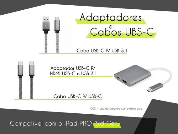 Cabo Usb-usb C + Usb C-usb C + Usb C-hdmi - iPad Pro 3rd Gen