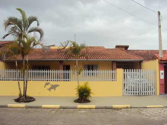 Casa Com Edícula A 650 Metros Praia - Ref.313 - Paranapuan