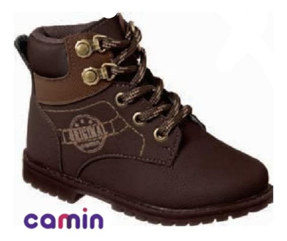 Bota Coturno Infantil Menino Tênis Camin 2258-03