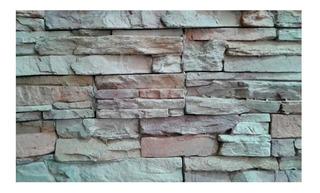 Revestimiento Simil Piedra Ecostone Andes Crema Caja Cuotas
