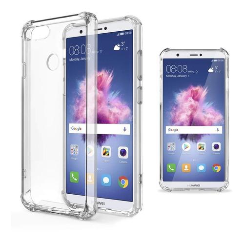 Estuche Transparente Huawei P Smart Bordes Reforzados