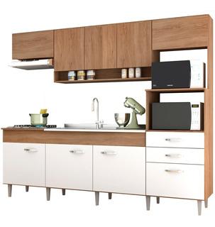 Cocina Integral Alacena Mueble Moderna 2.4 M Incluye Tarja