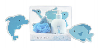 Set De Baño Little Paris Little Boy Set Aquatic