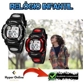 Relógio Infantil Synoke Digital Sport Luz Led, Alarme Barato