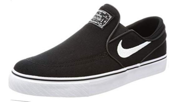 Panchas Nike Stefan Janoski Lona Slip Gs Negro 882988 002