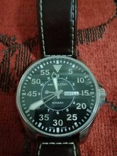 Reloj Hamilton Cuarzo Piloto