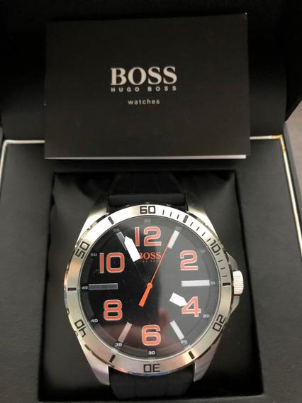 Relógio Hugo Boss Pulseira Borracha Original