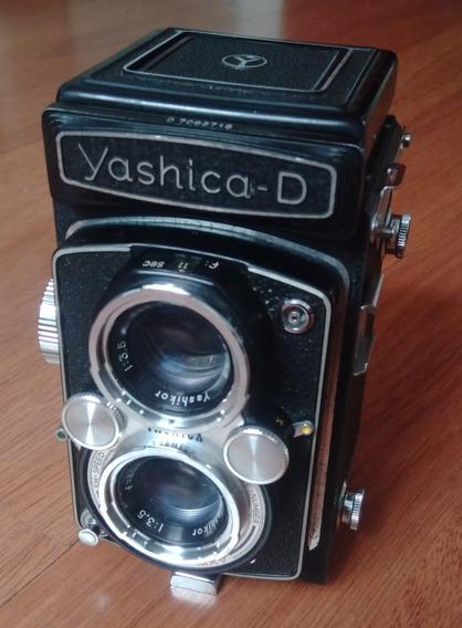 Câmera Fotográfica Yashica D 6x6