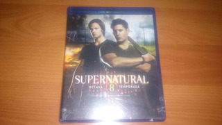 Supernatural Octava Temporada 8 Bluray Nuevo Y Sellado