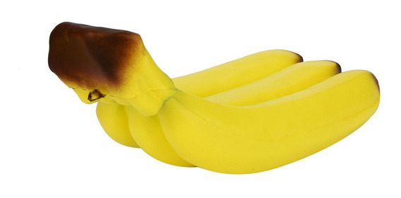 Banana Squishy Aumentando Lento Squeeze Telefone Correias Ba