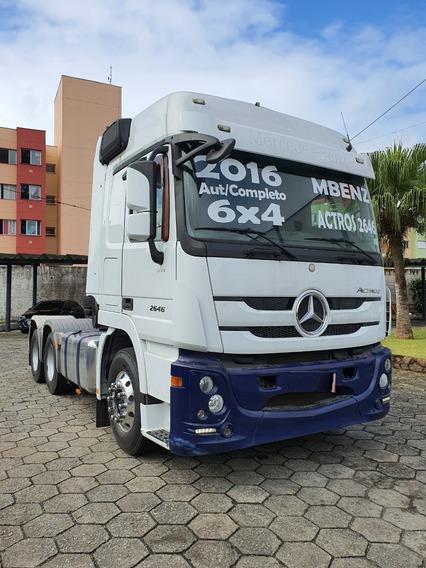 Mercedes-benz Actros Mb 2646 6x4 Aut 2016 / Financiamos