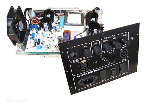 Kit Dclass P/ Ativação De Caixas Multivias 500 Watts Rms