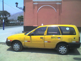 Nissan Ad Van Stacion Wagon, Motot Carburado,mecanico,glp, 1