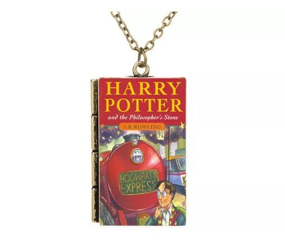 Colar Livro Harry Potter