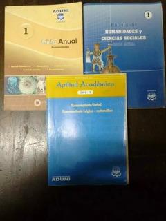 Boletines Academias Aduni Y Pitágoras (usados) Libros
