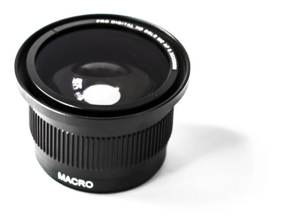 Lente Fisheye Olho De Peixe 55mm P/ Nikon D3400 D3300 D3200