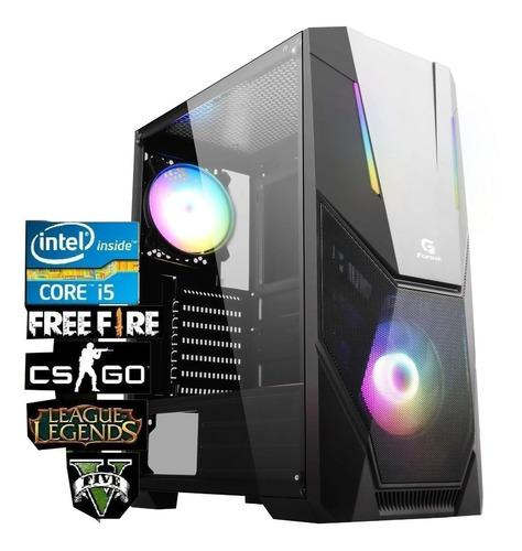 Imagem 1 de 4 de Pc Gamer Barato Intel Core I5 8gb Ssd240gb Freefire Jogos