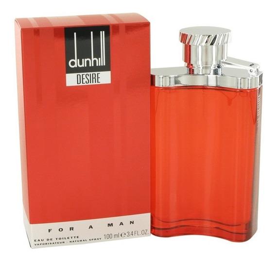 Perfume Alfred Dunhill Desire Red Masculino 100ml Edt - Novo