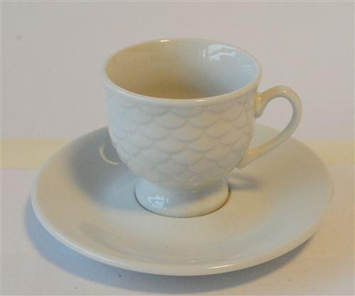 Set Tazas De Porcelana Para Café X6