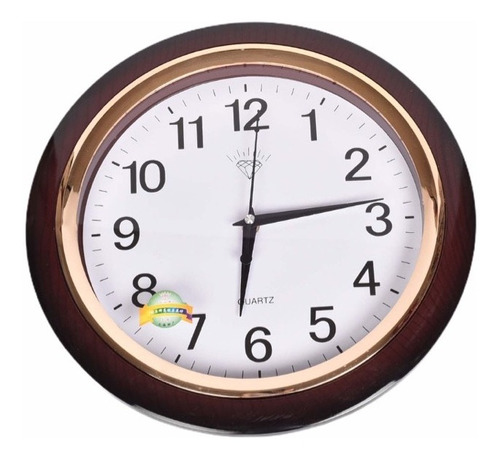 Reloj De Pared Mediano 35cm 2883
