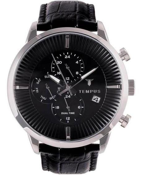 Relógio Masculino Tempus Zw20172t Barato Original Garantia