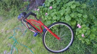 Remato Bicicleta Roja Playera Rodado 26 Excelente Estado