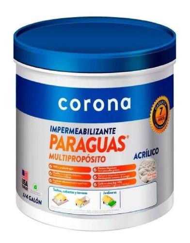Impermeabilizante Para Terraza Corona Multiproposito 1/4