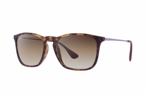 Óculos Sol Ray-ban Rb4187 Chirs Original Masculino Feminino