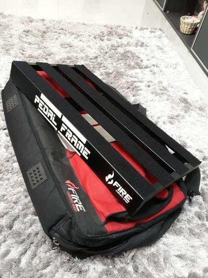 Pedalboard Pedal Frame Fire Com Bag