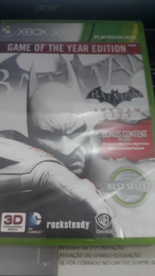 Batman Arkham City X Box 360