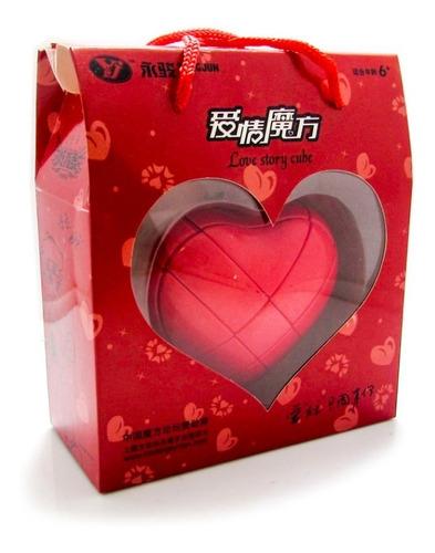 Cubo Rubik Corazon Cubo Magico Yj Heart 3x3 Puzzle Original