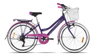 Bicicleta Aurora Ona Shimano X6 Rodado 24 + Cuotas !!!