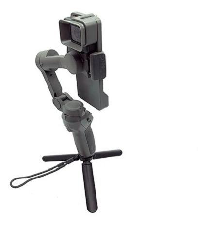 Adaptador Gopro 5 6 7 P/ Gimbal Dji Osmo Mobile 3