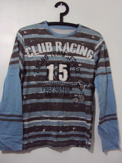 Camiseta Manga Longa Club Racing