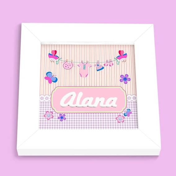 Porta Maternidade Varal Alana