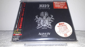 Kiss - Symphony Alive Iv Promo Sample 2cds Selado Dlx Japan