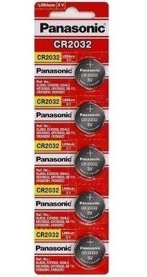 Bateria Panasonic Lithium 3v Cr2032 Cartela C/5 Frete $ 7,50