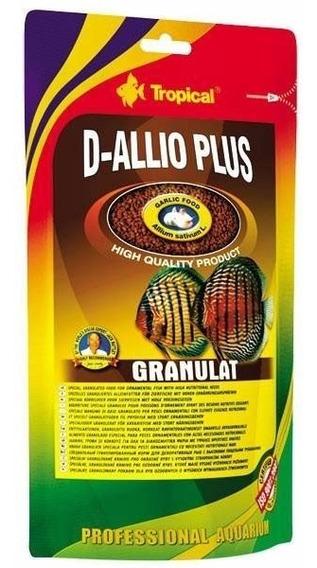 Ração Fortificada C/ Alho Tropical D-allio Plus Granulat 80g