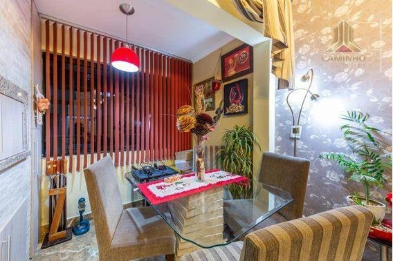 Vendo Apartamento De Dois Dormitórios, Com Garagem Coberta, Sacada Com Churrasqueira - Ap4030