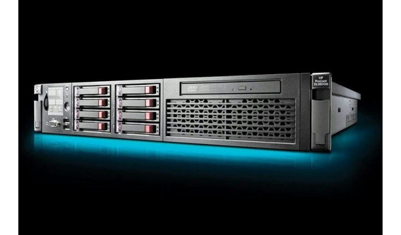 Servidor Hp Dl380 G6 2x Six Core 32gb Ram 4x Hds 300gb 10k
