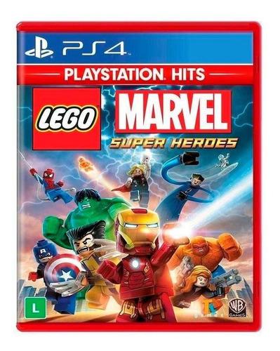 Imagem 1 de 1 de Lego Marvel Super Heroes Ps Hits - Ps4