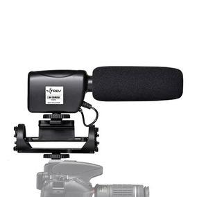 Microfone Trev Hdv Direcional Shotgun Steady Pra Canon\sony