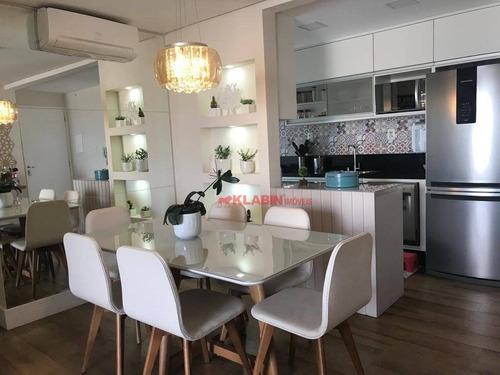 Imagem 1 de 27 de Apartamento Com 3 Dormitórios À Venda, 85 M² Por R$ 990.000,00 - Vila Gumercindo - São Paulo/sp - Ap10571