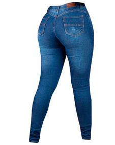 Calça Jeans Feminina Super Stretch Colcci Azul Aço