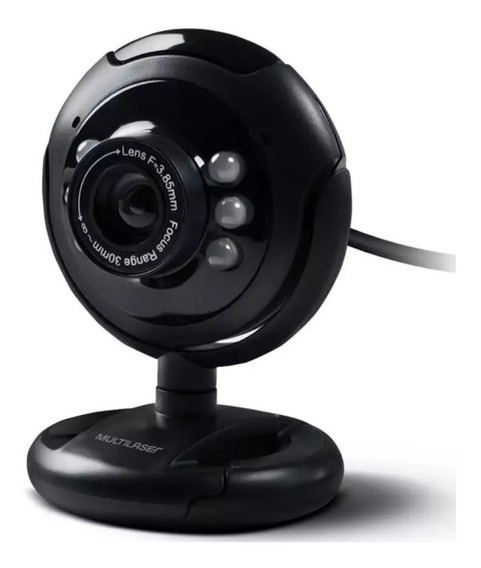 Webcam Night Vision Toy 16mp Microfone Multilaser