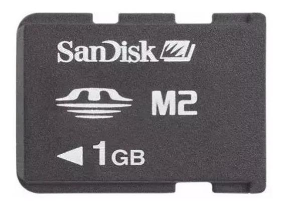 Cartão Micro M2 1gb Memory Stick Sandisk Frete Gratis